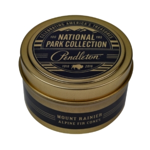 Pendelton Tin Travel Candle Rainer