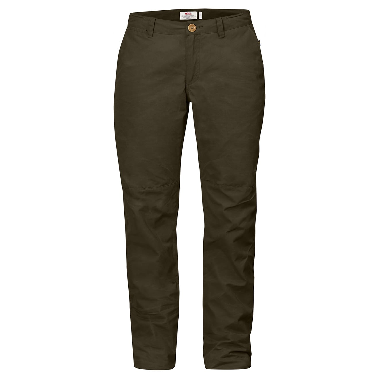 Sörmland Tapered Trousers Womens dark olive