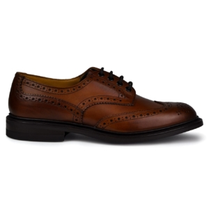 Trickers bourton beechnut burnished dainite sole