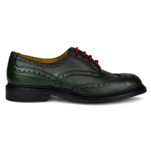 Trickers bourton smoked green burnished dainite sole