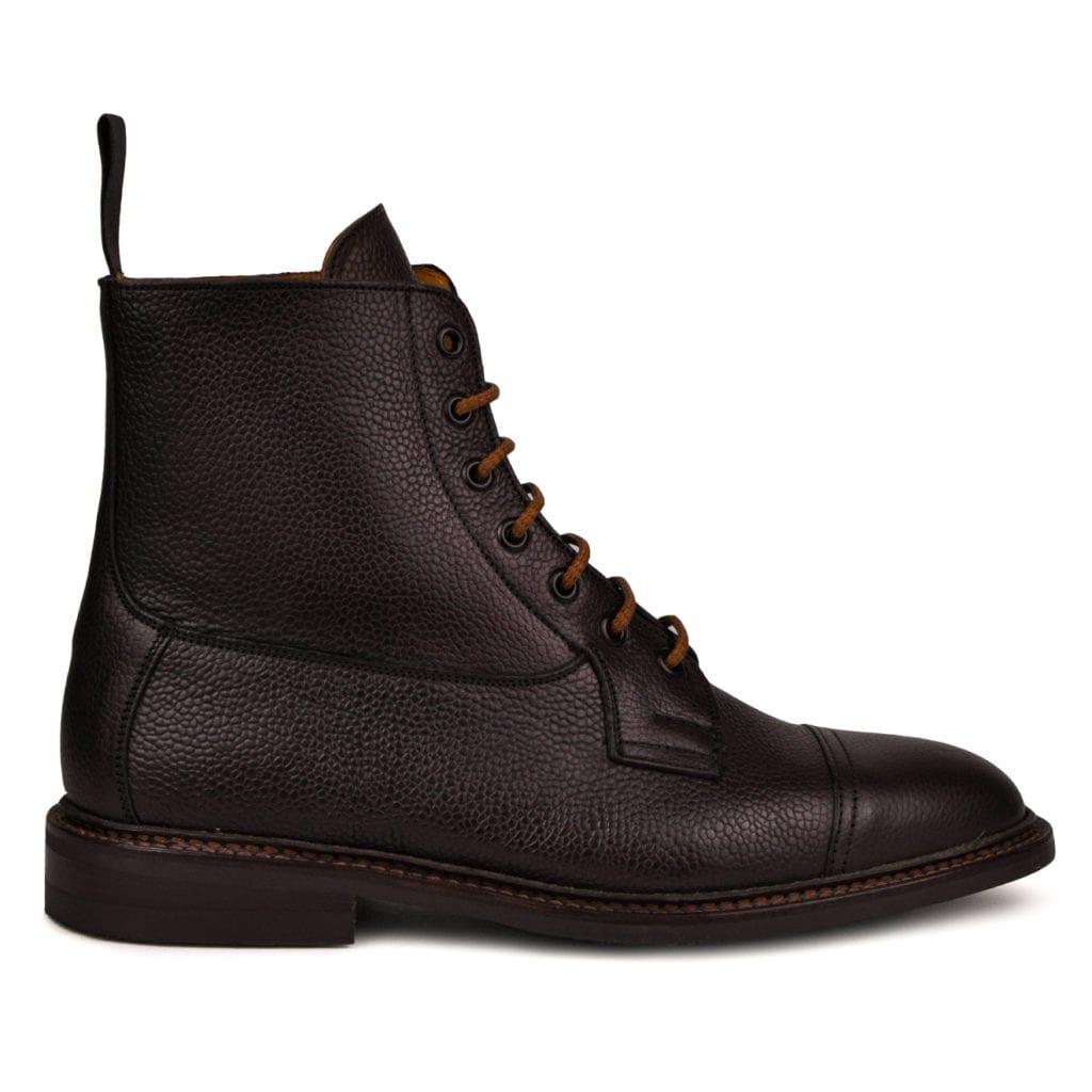 Trickers calvert olivvia brown scotch grain dainite sole boot