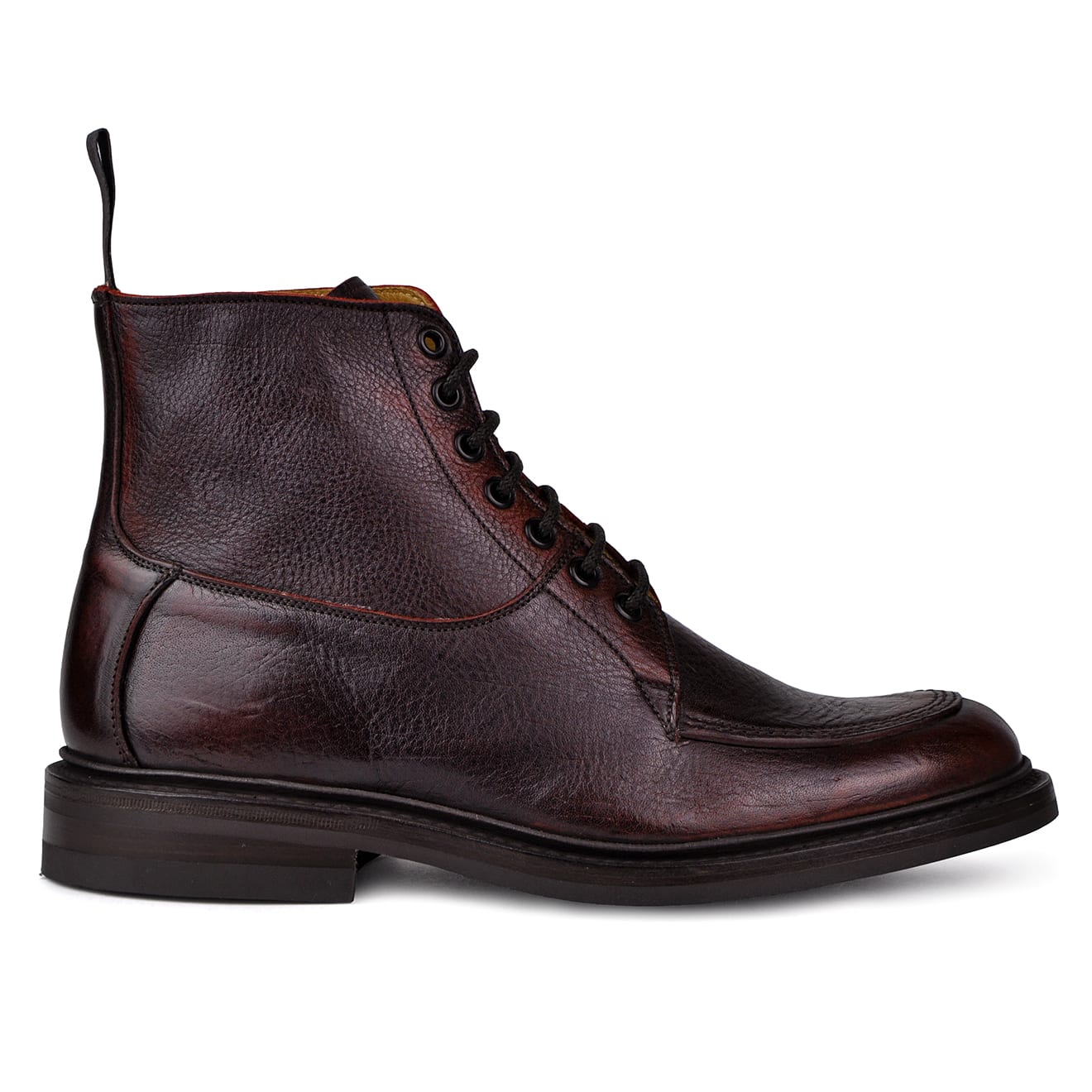 Trickers leo sign kudu dainite sole boot Burgandy