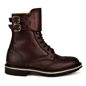 Trickers ottenburger burgandy MC boot commando sole
