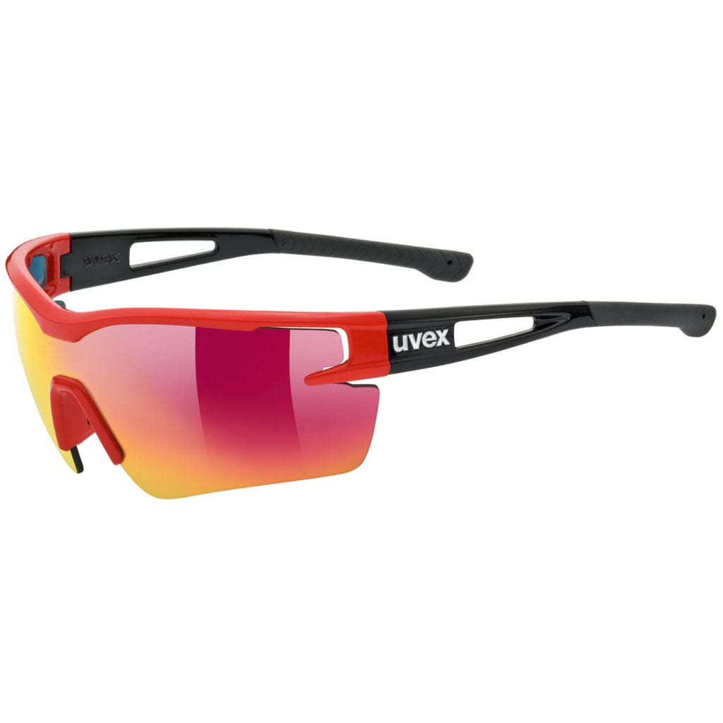 UVEX Sportstyle 113 Glasses Red / Black