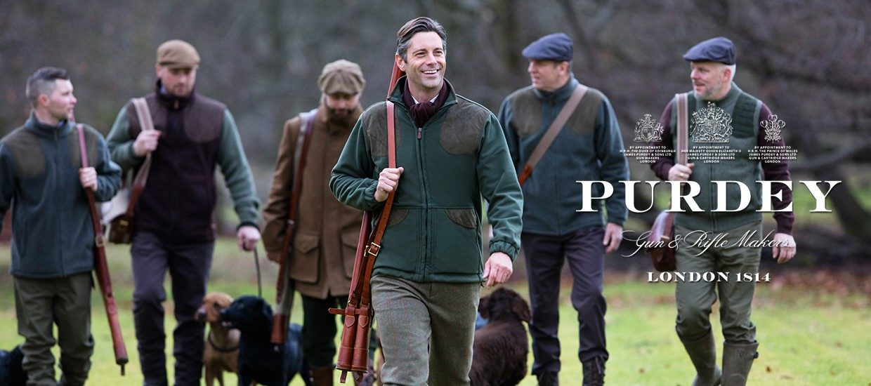 James Purdey at The Sporting Lodge