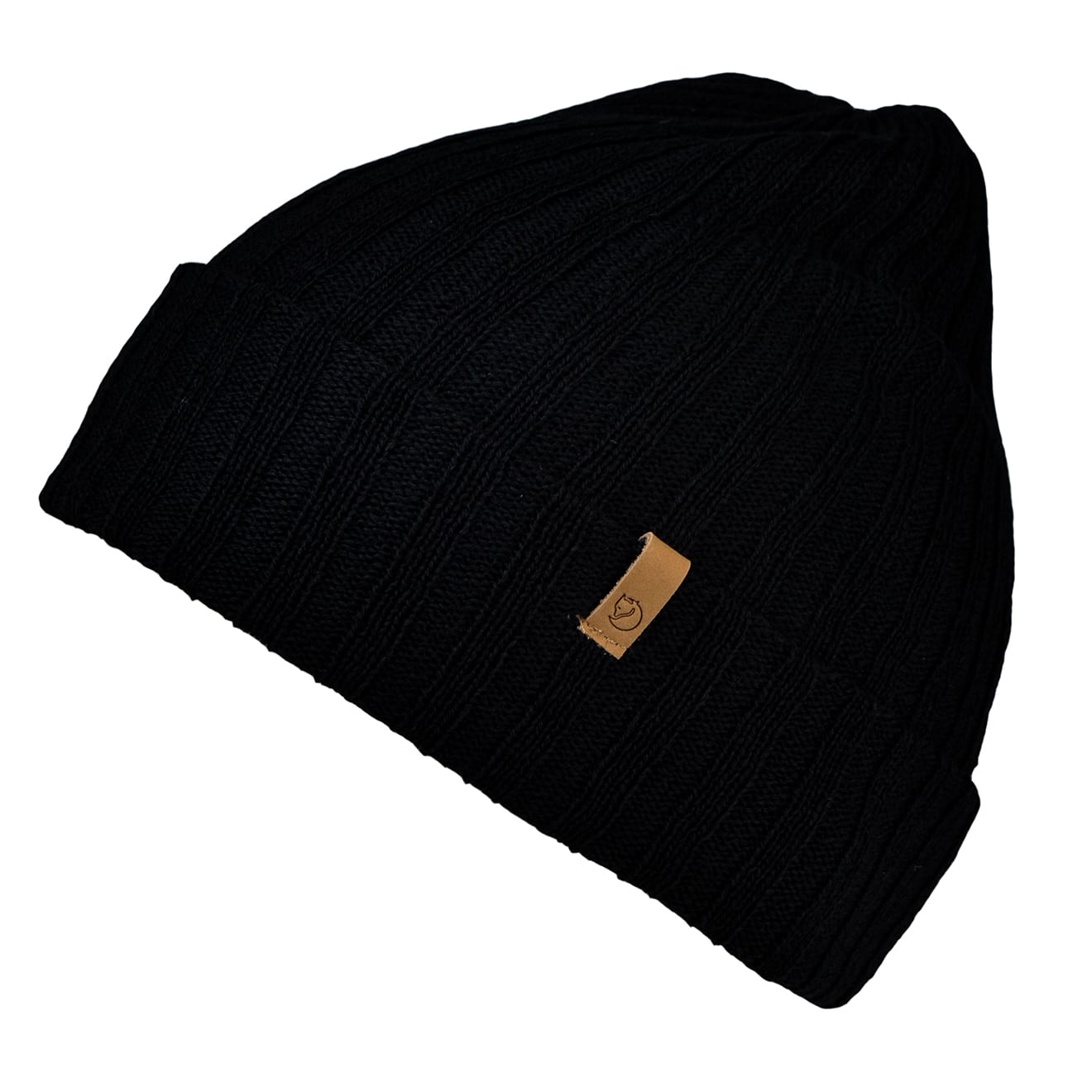 Fjallraven byron hat thin black
