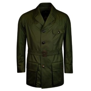 Grenfell shooter jacket green laundered