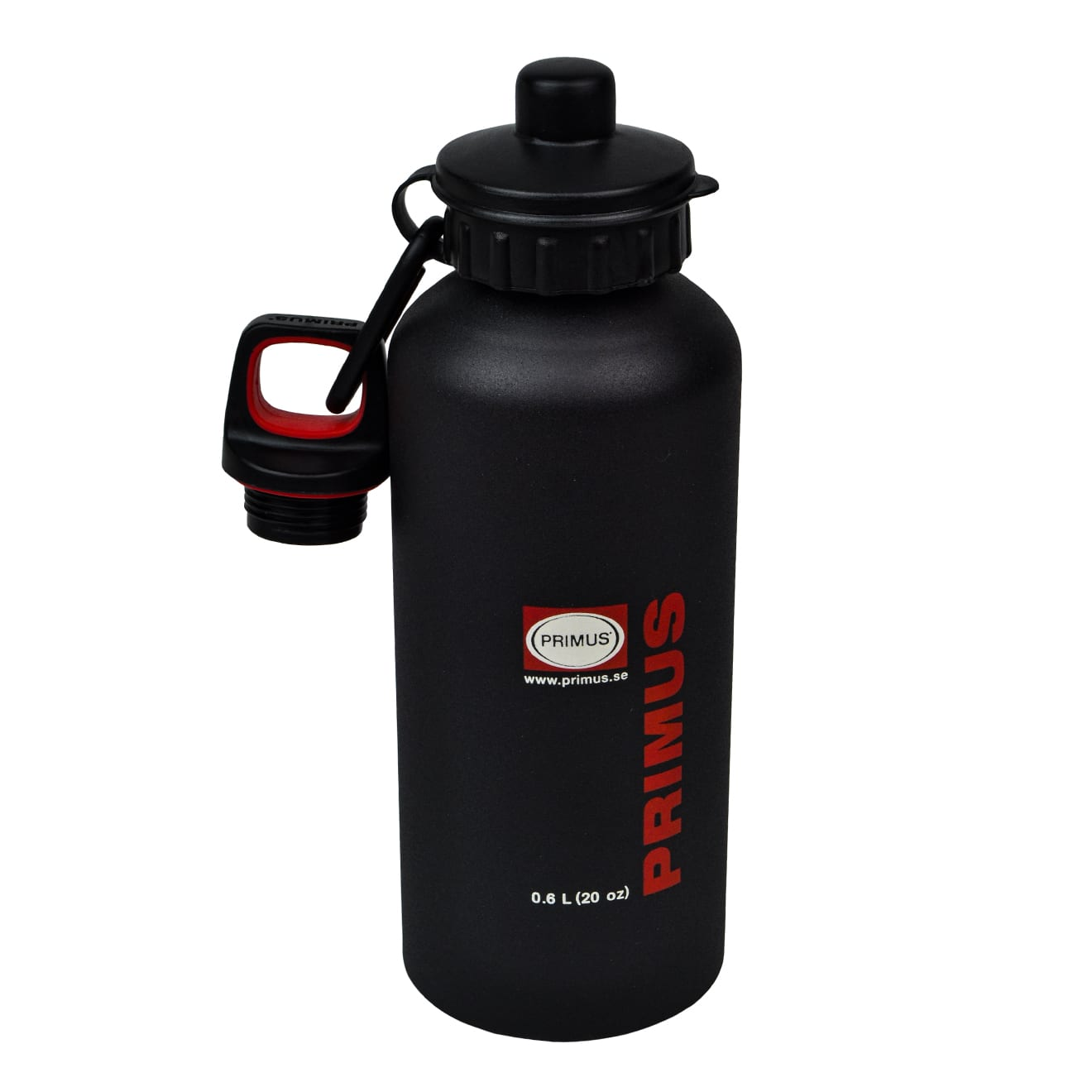 Primus stainless steel drinking bottle 0.6L black