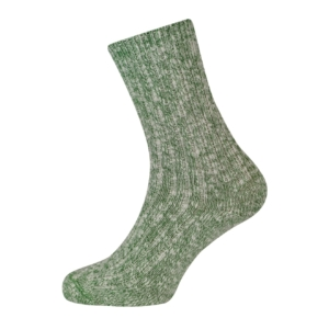 Wigwam cypress ragg sock white green