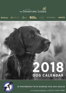 The Sporting Lodge 2018 Dog Calendar