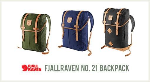 Fjallraven No.21 Backpack Range