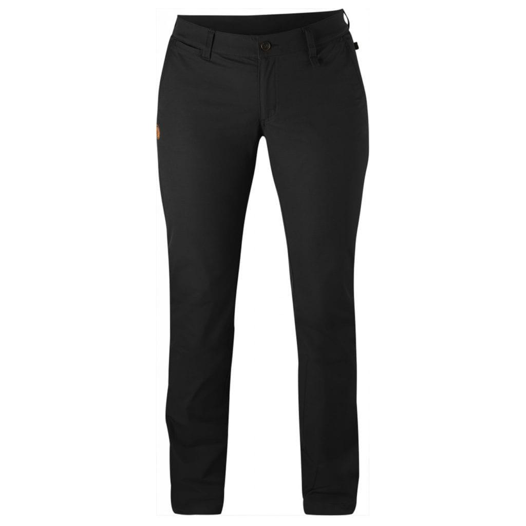 Fjallraven Womens Abisko Stretch Trousers Black