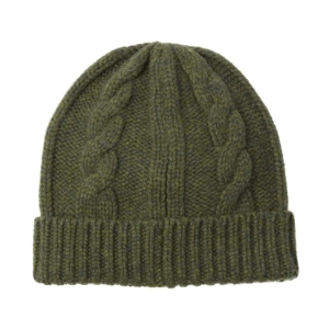 Bernard Weatherill Cable Beanie Thyme