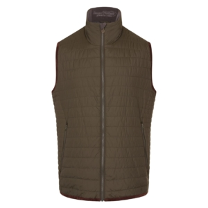 Bernard Weatherill Primaloft Fill Gilet Forest
