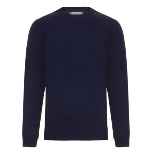 Bernard Weatherill Cashmere Crew Neck Bright Navy