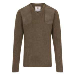 Bernard Weatherill V-Neck Shooting Knit