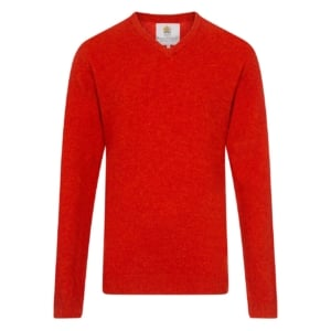 Bernard Weatherill V-Neck Knit Ember