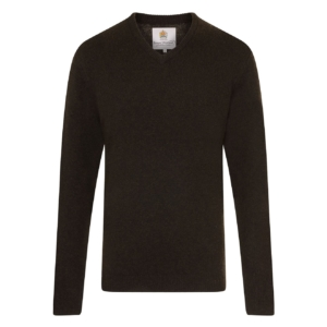 Bernard Weatherill V-Neck Knit Loden