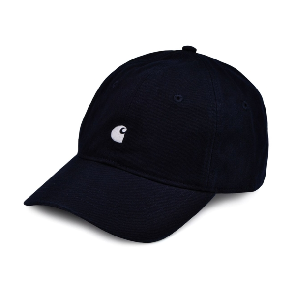 Carhartt madison logo cap twill dark navy wax