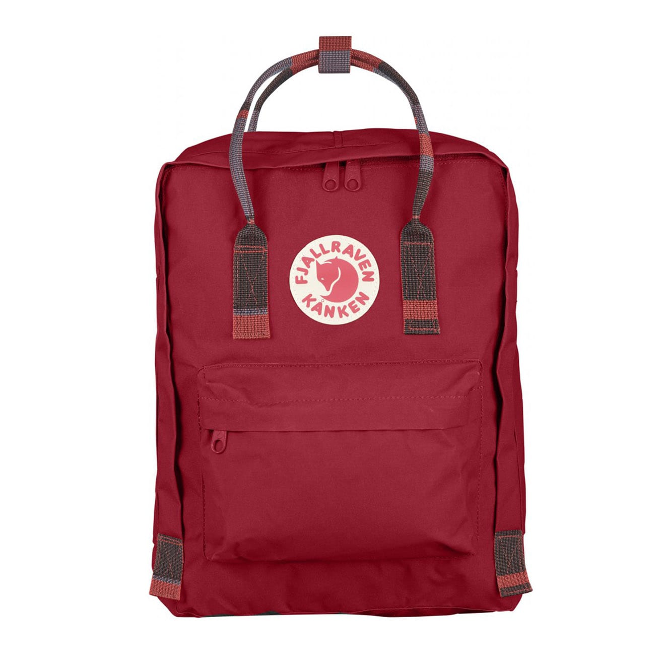 Fjallraven Kanken Classic Deep Red Random Blocked
