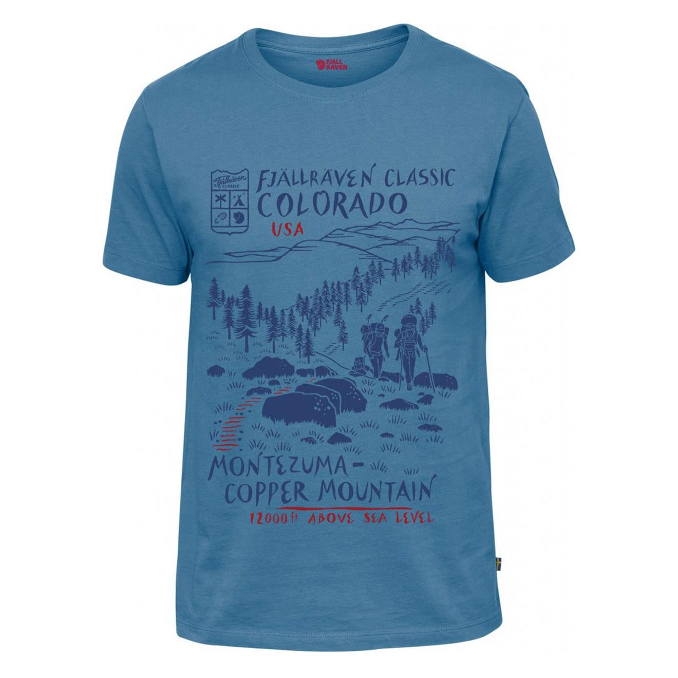 Fjallraven Classic US T-Shirt US Azure Blue
