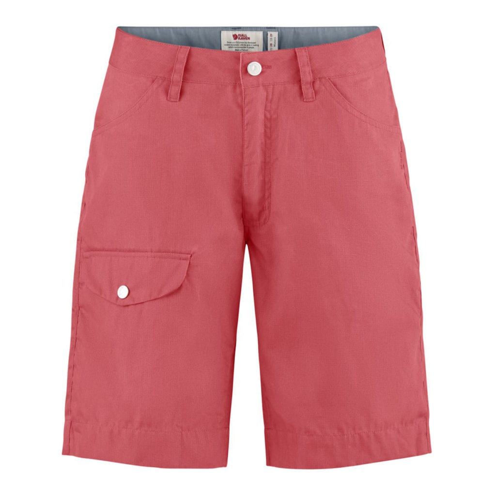 Fjallraven Womens Greenland Shorts Peach Pink
