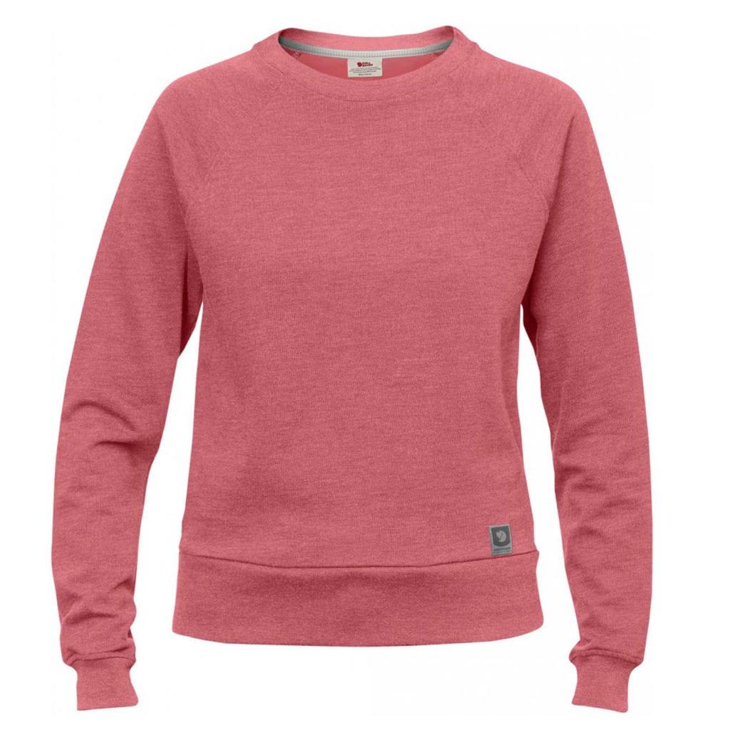 Fjallraven Womens Greenland Sweater Peach PInk