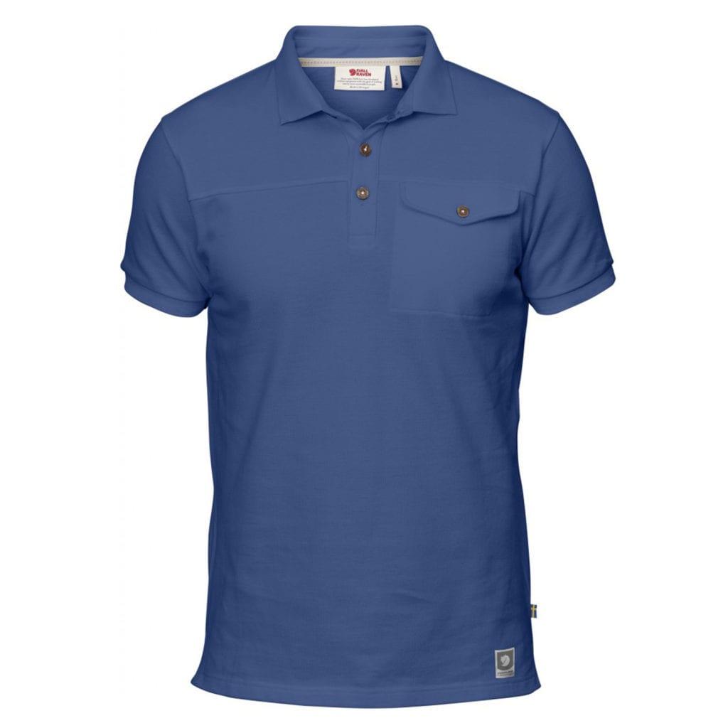 Fjallraven Greenland Polo Shirt Deep Blue