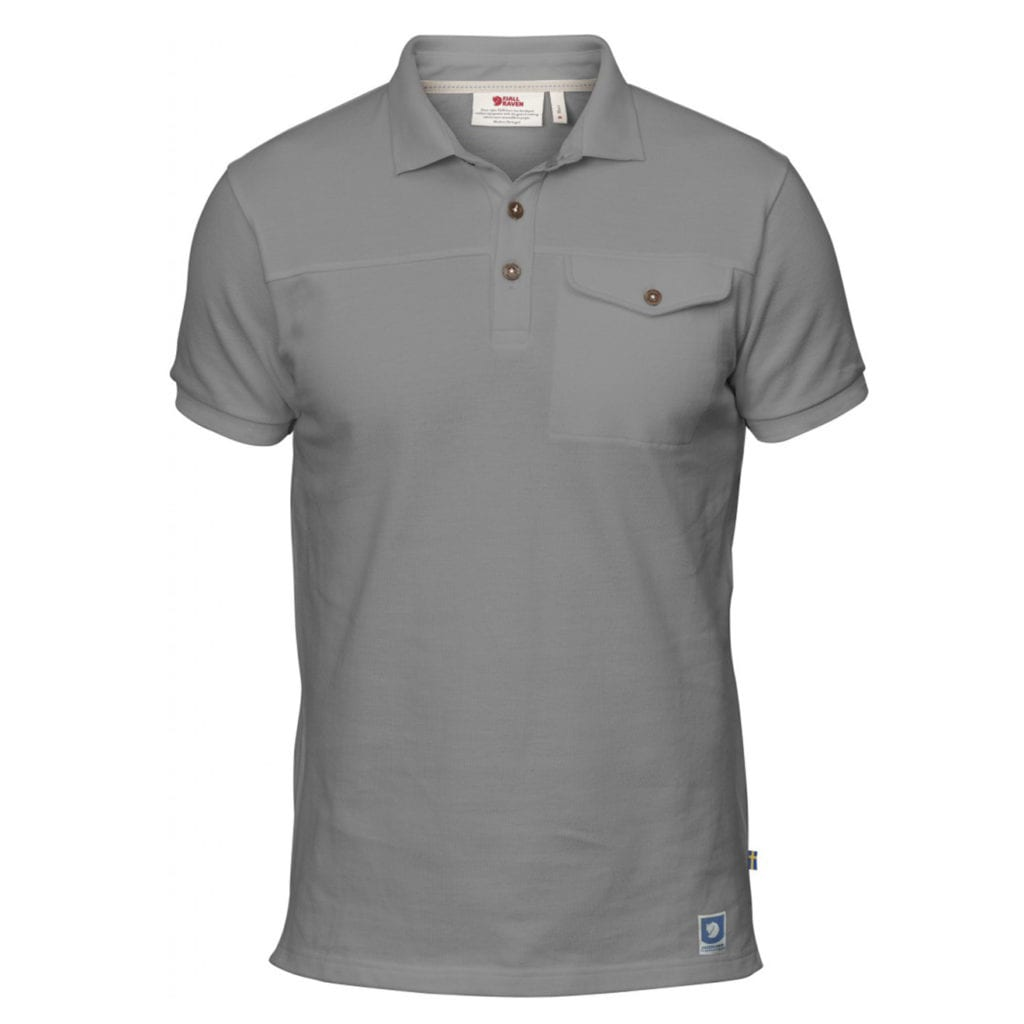 Fjallraven Greenland Polo Shirt Grey