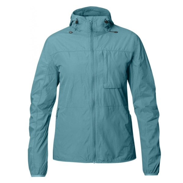 Fjallraven Womens High Coast Wind Jacket Lagoon