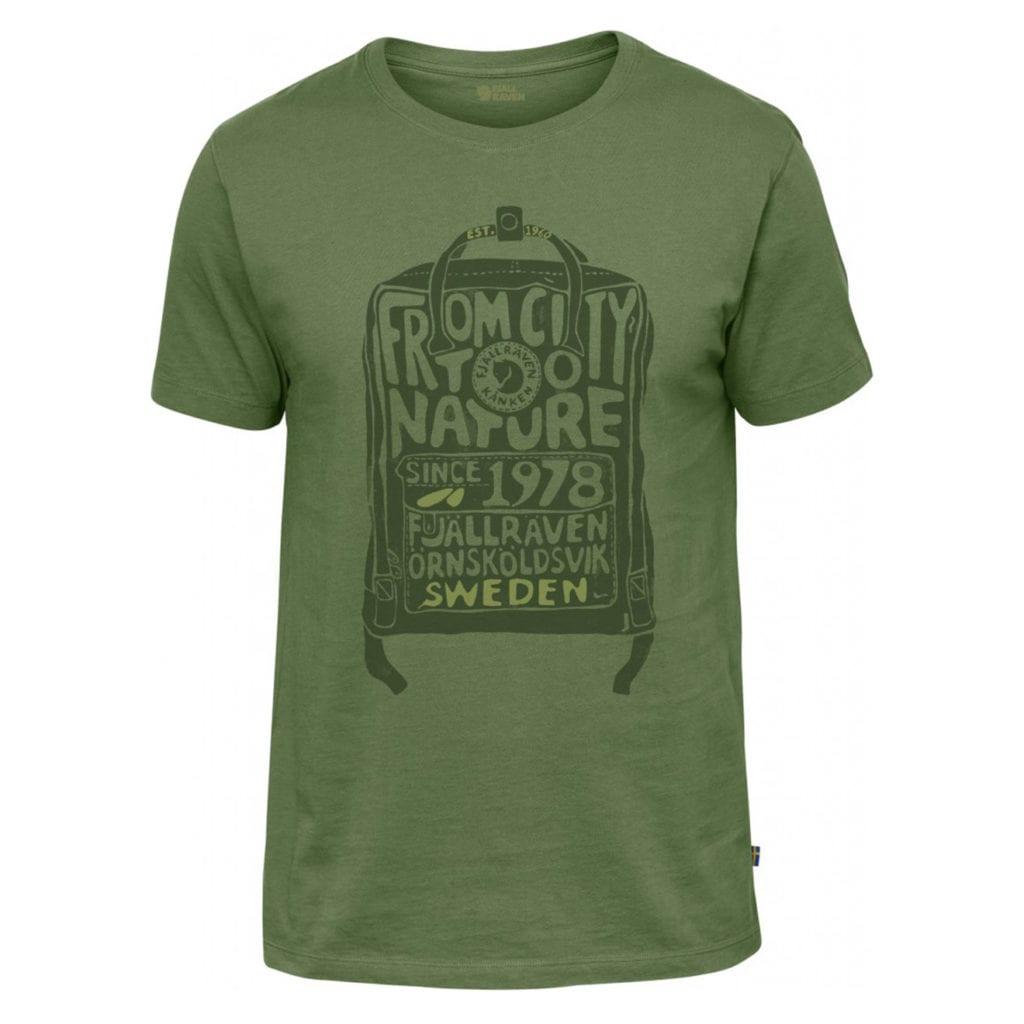 Fjallraven Kanken T-Shirt Fern