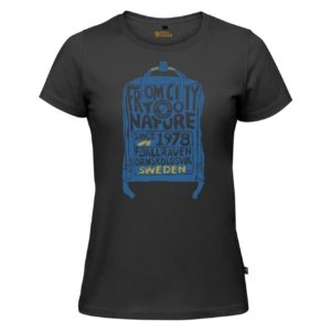 Fjallraven Womens Kanken T-Shirt Dark Grey