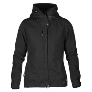 Fjallraven Womens Keb Jacket Black / Black