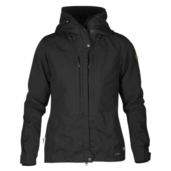 Fjallraven Womens Keb Jacket Black / Black