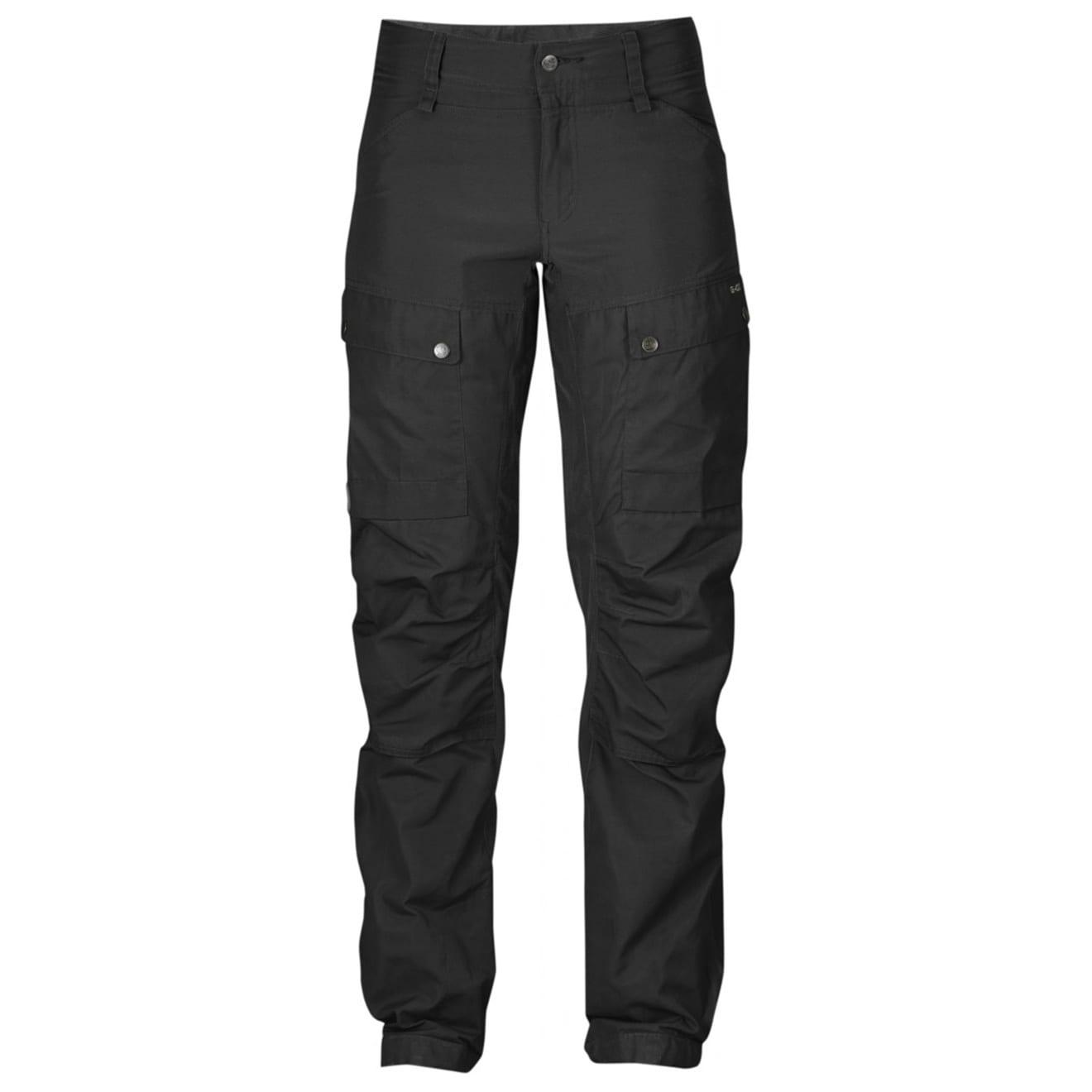 Fjallraven Womens Keb Trousers Regular Black / Black
