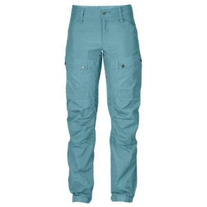 Fjallraven Womens Keb Trousers Regular Lagoon