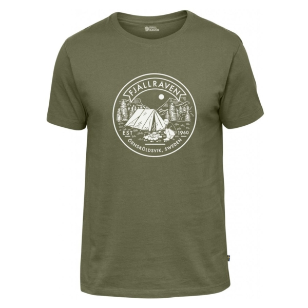 Fjallraven Lagerplats T-Shirt Green