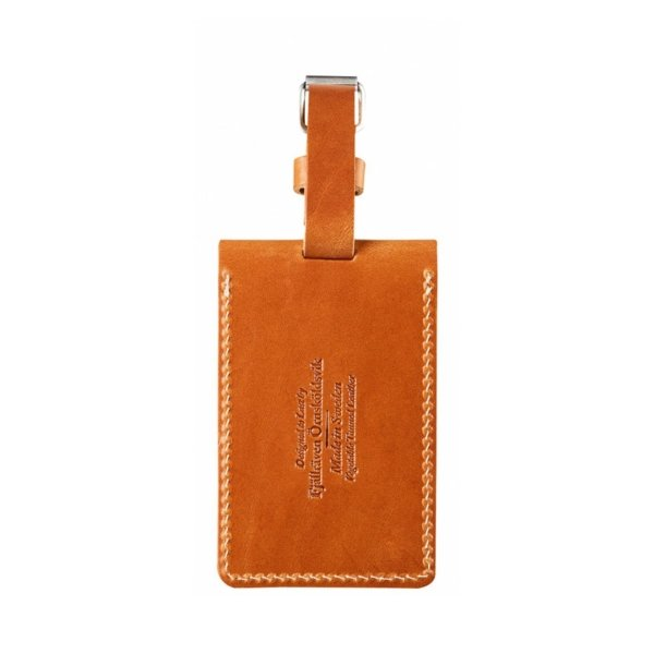 Fjallraven Leather Luggage Tag