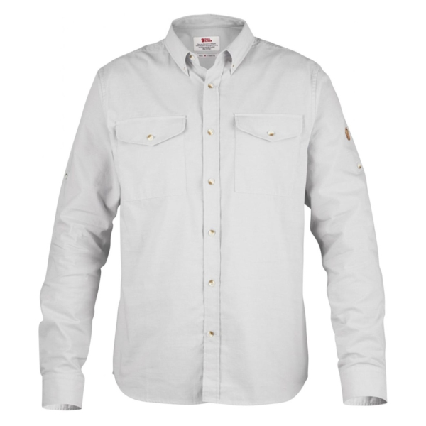 Fjallraven Ovik Chambray Shirt Chalk White