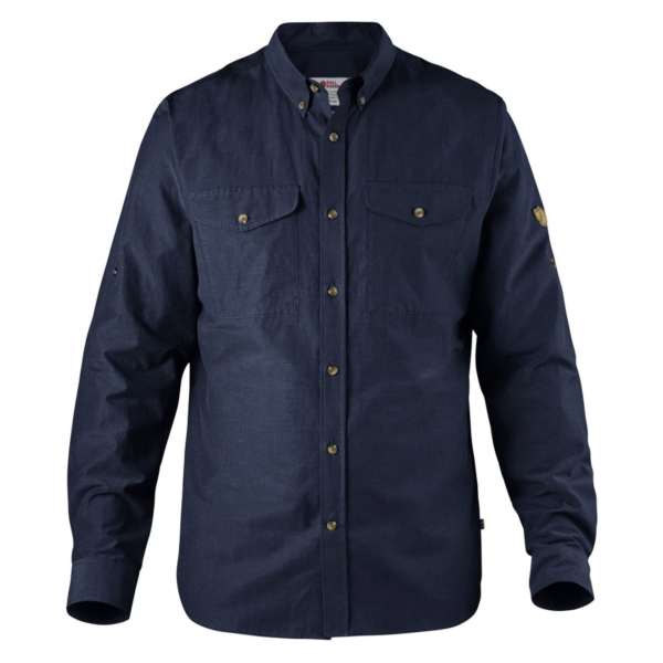 Fjallraven Ovik Lite Shirt Dark Navy
