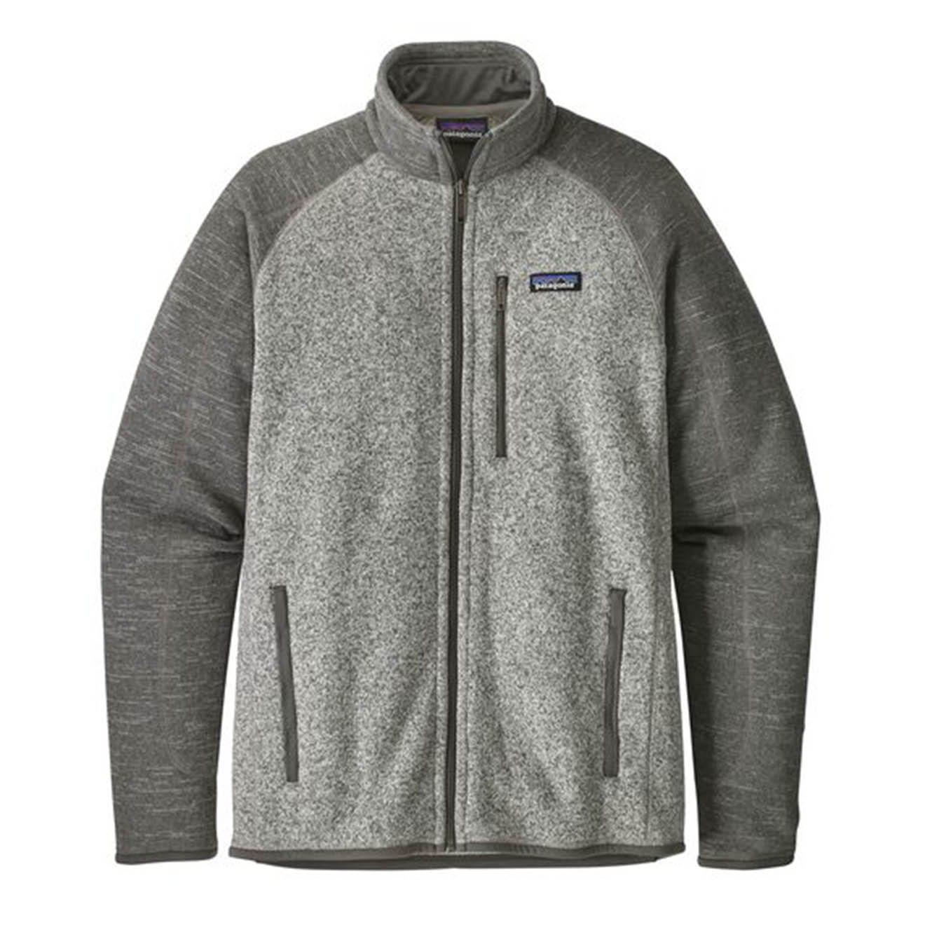 Patagonia better sweater fleece jacket stonewash nickel