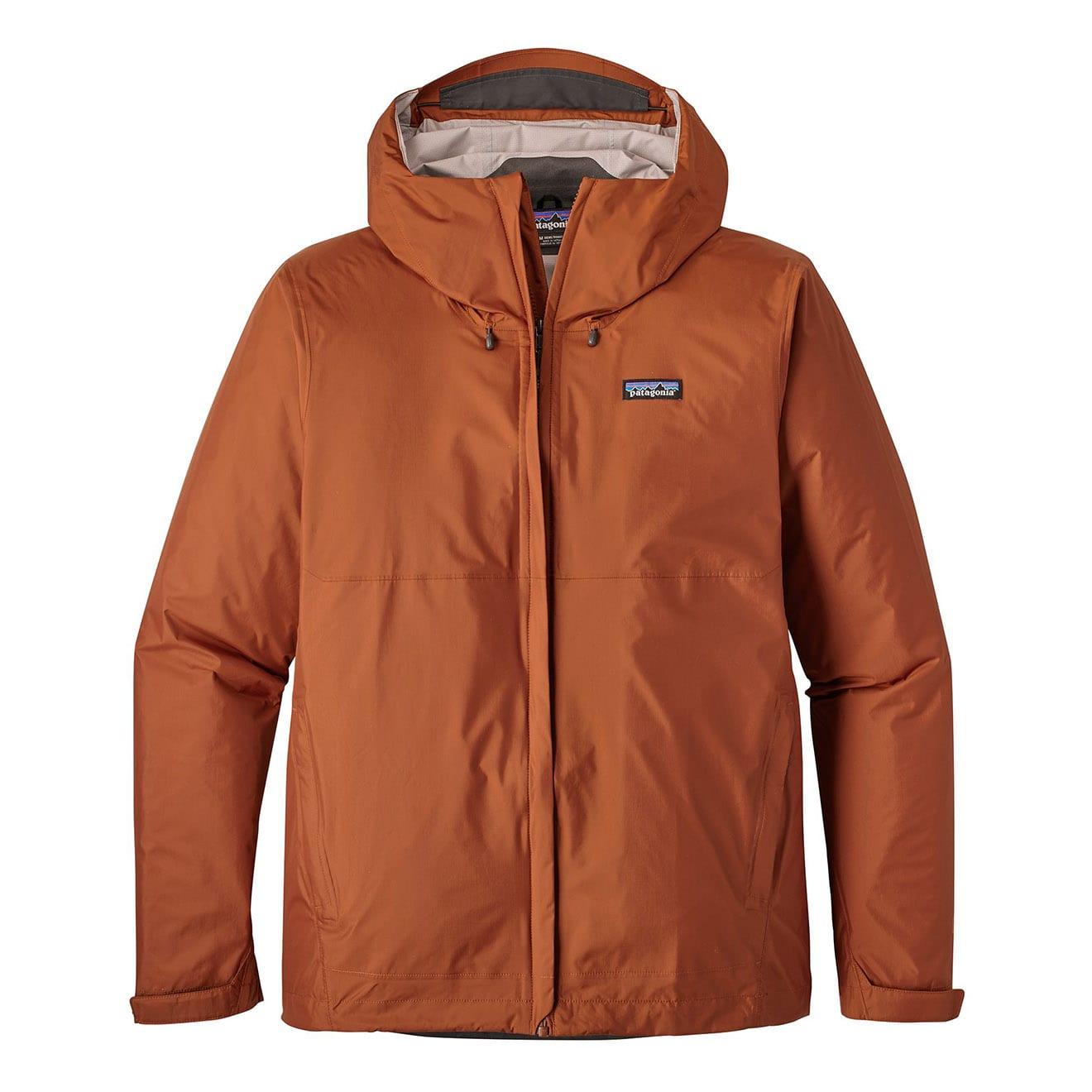 Patagonia torrentshell jacket copper ore