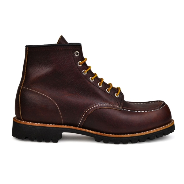 Red wing roughneck leather boots brown