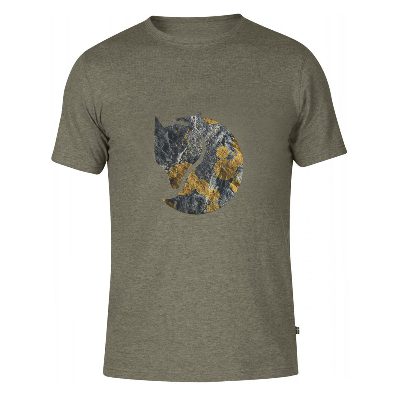Fjallraven Rock Logo T-Shirt Tarmac