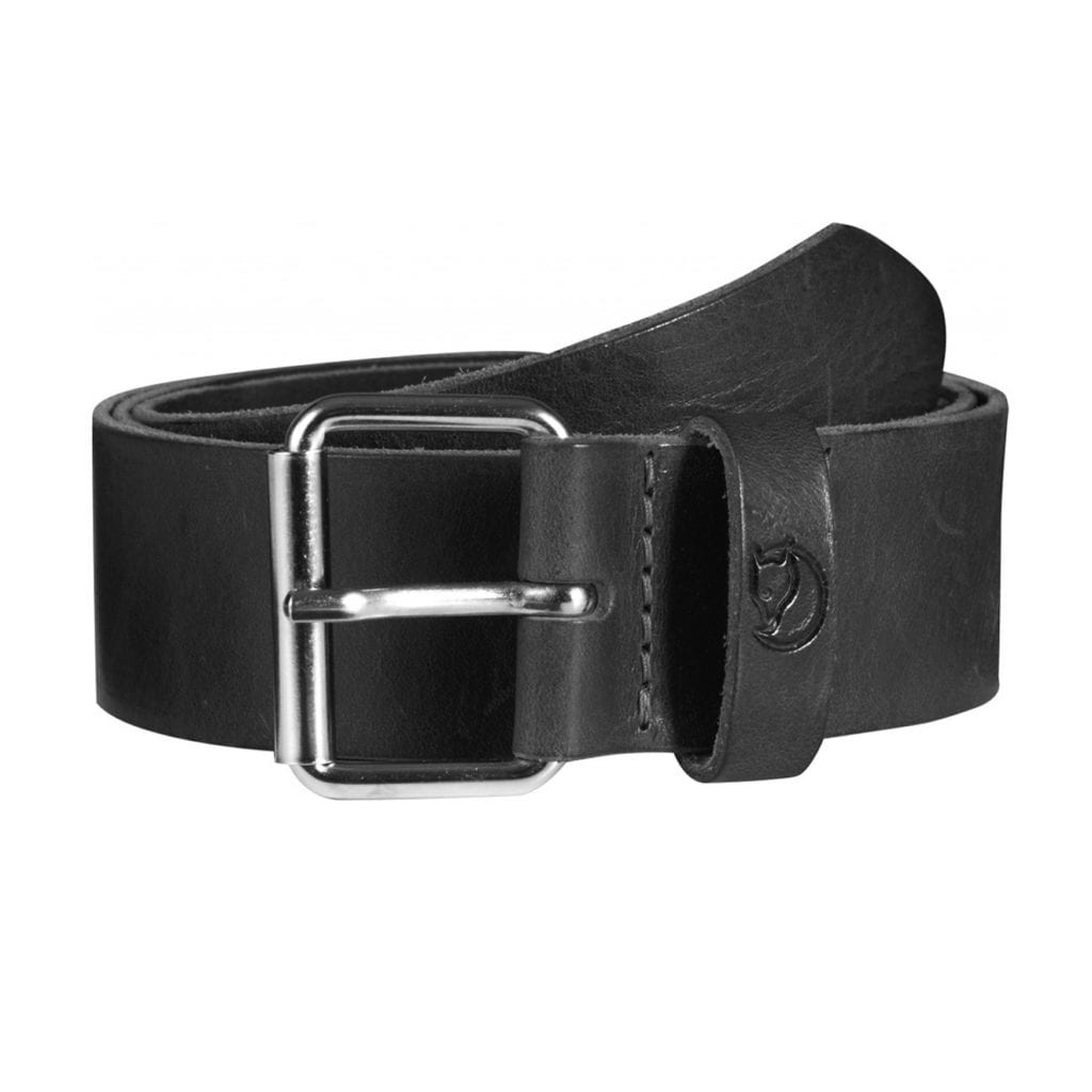 Fjallraven Singi Belt 4cm Black