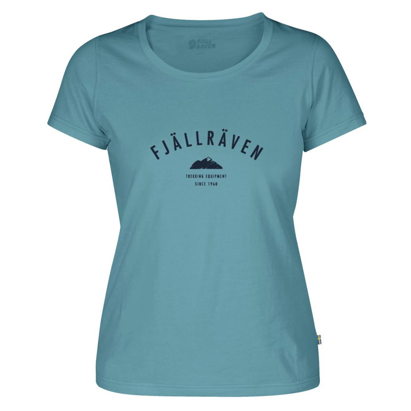 Fjallraven Womens Trekking Equipment T-Shirt Lagoon