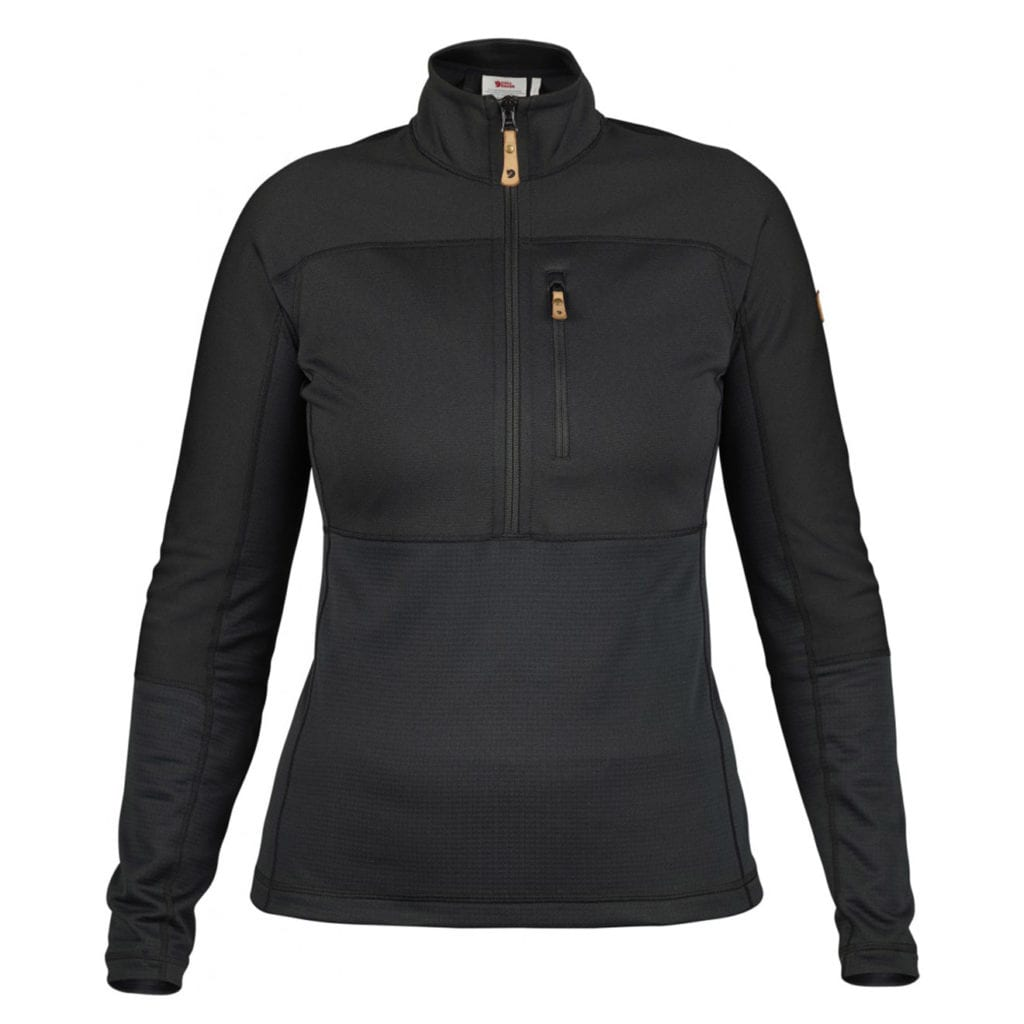 Fjallraven Womens Abisko Trail Pullover Black