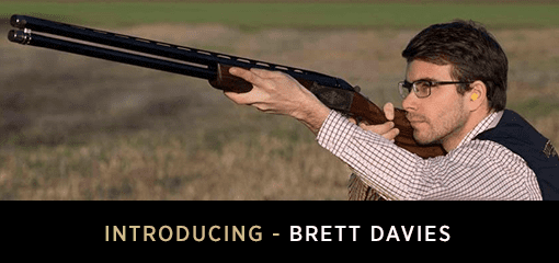 Brett Davies experienced game and clay pigeon shooting instructor