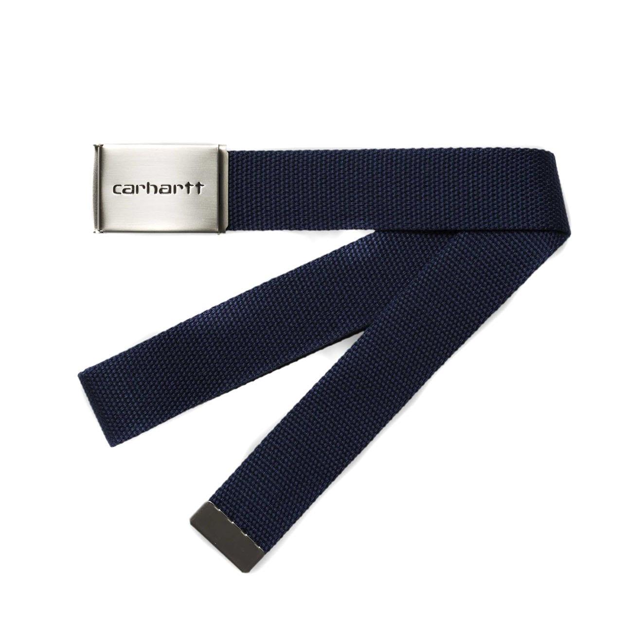 carhartt clip belt dark navy