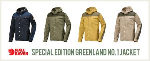Special Edition Greenland No.1 Jackets